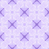 Floral purple blueprint pattern Royalty Free Stock Image