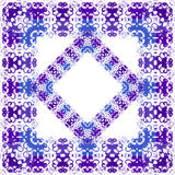 Floral purple pattern Royalty Free Stock Images