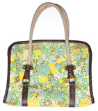 Floral Purse Royalty Free Stock Photography