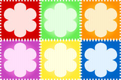 Floral quilt Stock Images