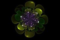 Floral Random Fractal Royalty Free Stock Images