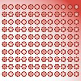 Floral red background Royalty Free Stock Photos