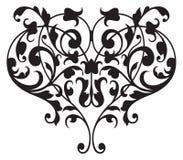 Floral Renaissance Detail Vector. A classic scrolling renaissance design vector illustration