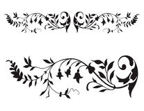 Floral Renaissance Vector Stock Photography