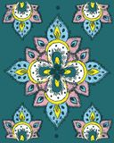 Floral repeating pattern Stock Images
