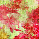 Floral retro. Floral background in grunge style Royalty Free Stock Photo