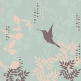 Floral retro background Royalty Free Stock Photos
