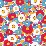 Floral retro pattern Stock Images