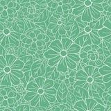 Floral Retro Pattern Stock Photos