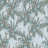 Floral Retro Pattern Royalty Free Stock Images