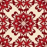 Floral retro vintage  seamless pattern Stock Photos