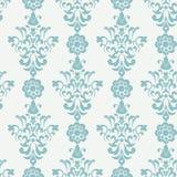 Floral retro wallpaper Stock Image
