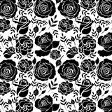 Floral Roses Pattern Elements for design Stock Photos