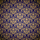 Floral royal wallpaper Royalty Free Stock Image