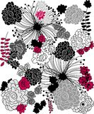 Floral sample Royalty Free Stock Image