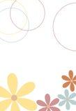 Floral scene 2. Light airy floral scene Royalty Free Illustration