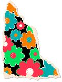 Floral Scrapbooking Paper vector illustration