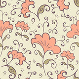 Floral seamles pattern. Stock Image