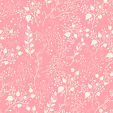 Floral seamles pattern. Royalty Free Stock Photos