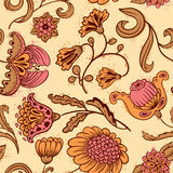 Floral seamless Stock Photography