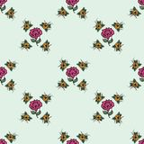 Beautiful vintage seamless floral background Royalty Free Stock Photos
