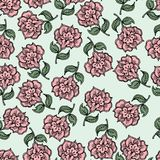 Beautiful vintage seamless floral background Royalty Free Stock Photography