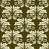 Floral seamless arabesque pattern Stock Photo