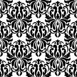 Floral seamless arabesque pattern Royalty Free Stock Images