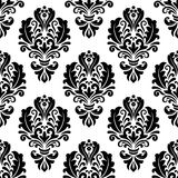 Floral seamless arabesque pattern Royalty Free Stock Photos