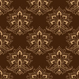 Floral seamless arabesque pattern Stock Images