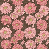 Floral seamless bacground Royalty Free Stock Photos