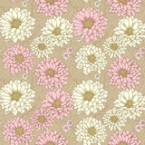 Floral seamless bacground Stock Photography