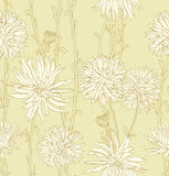 Floral seamless bacground Royalty Free Stock Image