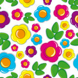 Floral Seamless background vector illustration