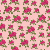 Floral seamless background Stock Photography