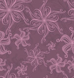 Floral seamless background Stock Photos