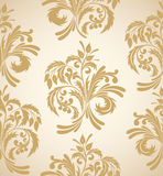 Floral seamless background Stock Image