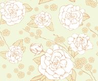 Floral seamless background. Royalty Free Stock Photography