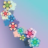 Floral Seamless Background. Stock Image