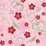 Floral seamless background Royalty Free Stock Photography