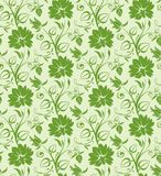Floral seamless background Royalty Free Stock Images