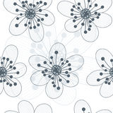 Floral seamless background. Illustration of floral seamless background Stock Photography