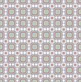 Floral seamless background. Abstract beige and grey floral geometric Seamless Texture Stock Images