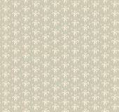 Floral seamless background. Abstract beige and white floral geometric Seamless Texture Royalty Free Stock Photos