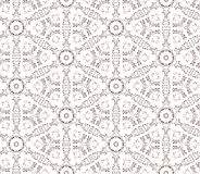 Floral seamless background. Abstract beige and white floral geometric Seamless Texture Stock Photography