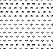 Floral seamless background. Abstract black and white floral geometric Seamless Texture. Abstract Floral Seamless Vector Background Texture. Floral textile. Tile Royalty Free Stock Photos