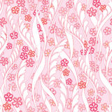 Floral seamless background. Abstract Bloom Seamless Texture Stock Photography