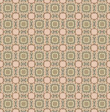 Floral seamless background. Abstract brown floral geometric Seamless Texture Royalty Free Stock Photo