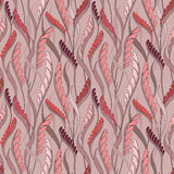 Floral seamless background. Abstract flourish pattern Stock Image