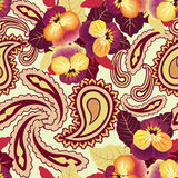 Floral seamless background. Abstract flourish pattern Royalty Free Stock Images